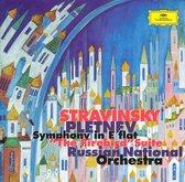 "Stravinsky: Symphony in E flat; ""The Firebird"" Suite"