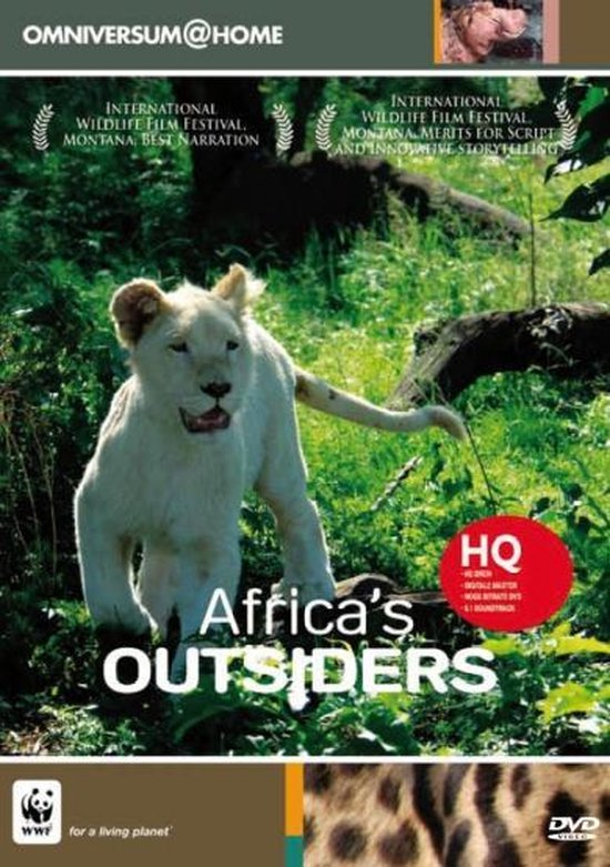 Cover van de film 'Africa's Outsiders'
