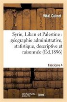 Syrie, Liban et Palestine