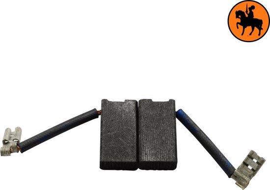 Koolborstelset voor Black & Decker P5751 - 6,3x12,5x23,5mm