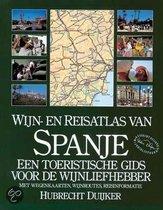 Wijn- en reisatlas van Spanje