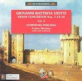 Violin Concertos Vol 3
