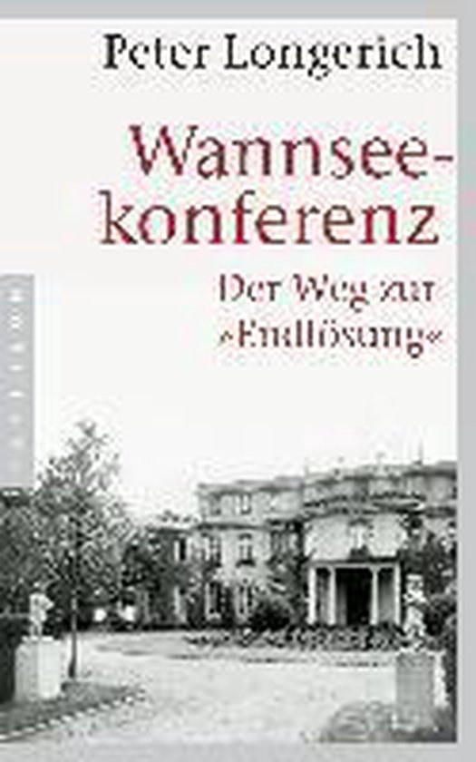 Boek cover Wannseekonferenz van Peter Longerich (Paperback)