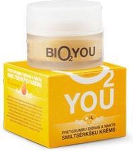 Bio2you duindoorn anti-verouderings crème met hyaluronzuur