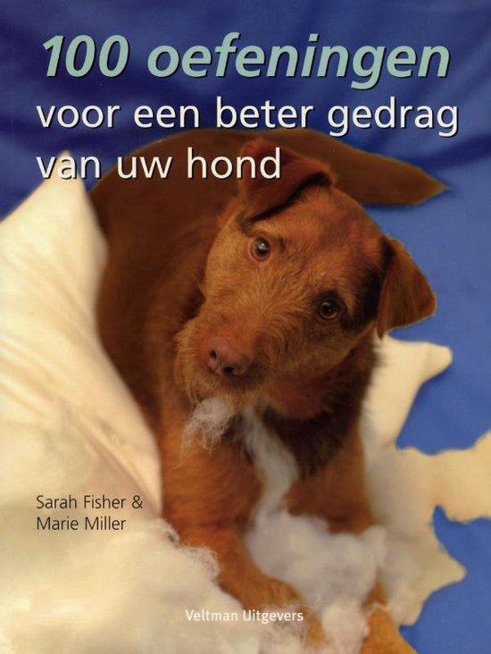 Cover van het boek '100 oefeningen voor een beter gedrag van uw hond' van Sarah Fisher