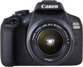 Canon EOS 2000D Body + 18-55mm + 50mm - Zwart
