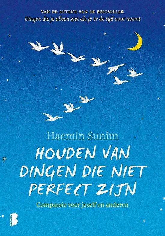 Boek cover Houden van dingen die niet perfect zijn van Haemin Sunim (Hardcover)