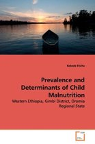 Omslag Prevalence and Determinants of Child Malnutrition