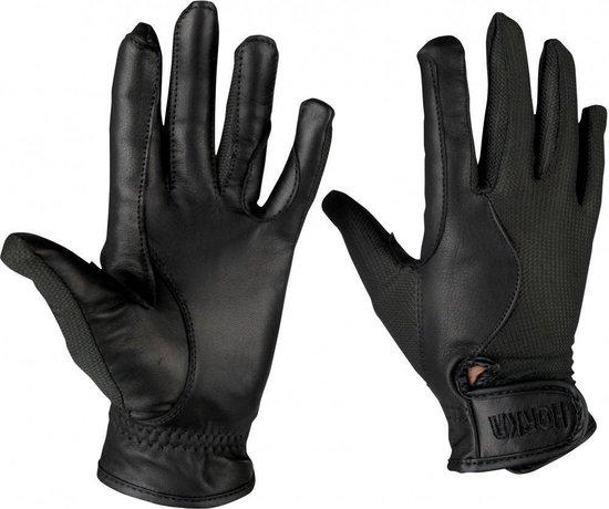 Horka Paardrijhandschoenen Airtech Gloves Zwart - maat L