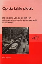 Publikaties van de Faculteit der Historische en Kunstwetenschappen XX - Op de juiste plaats