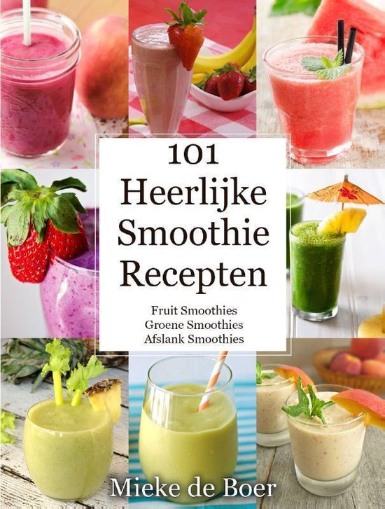 Verrassend bol.com | 101 heerlijke smoothie recepten (ebook), Mieke de Boer DM-88