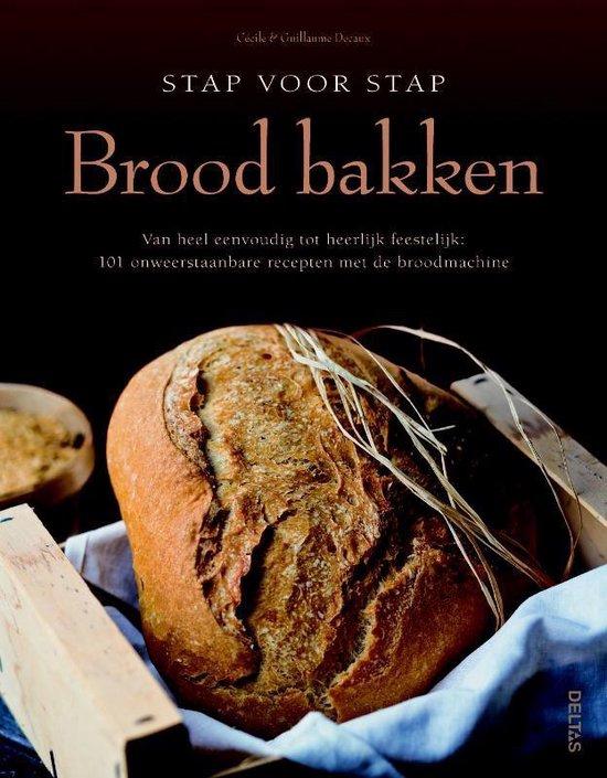 Boek cover Stap voor stap brood bakken van Céline Decaux (Hardcover)
