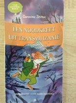 Boek cover Geronimo Stilton: Een Noodkreet uit Transmuizanië - Luisterboek - 1 cd van Geronimo Stilton