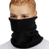 Sjaal warmer| Fleece | Sjaal |  Zwart | Unisex