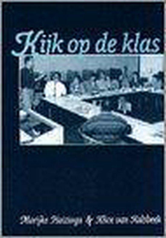 Boek cover Kijk op de klas van Marijke Huizinga (Paperback)