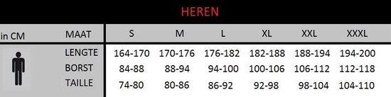 Brubeck | Athletic Heren Hardloop Shorts - Hardloopbroek - met binnenbroek model Slip - Zwart - XXL