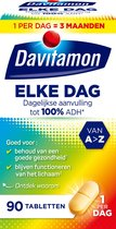 Davitamon Elke Dag Multivitaminen Voedingssupplement - 90 tabletten