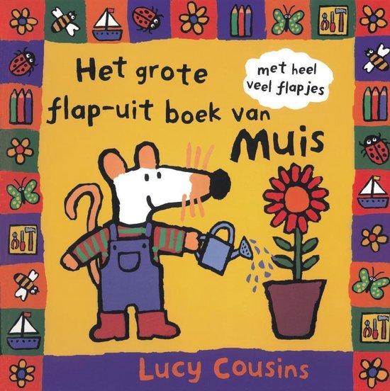 Muis - Het grote flap-uit boek van muis - Lucy Cousins  