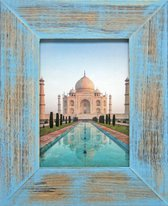 Fotolijst - Henzo - India - Fotomaat 13x18 - Blauw