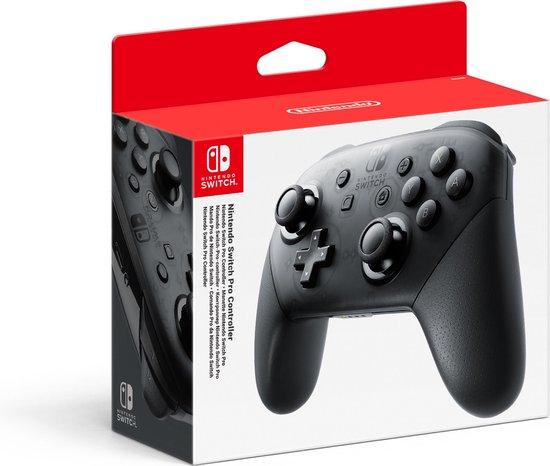 Afbeelding van Nintendo Pro Controller - Zwart - Switch