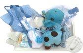 Kraam cadeau geboorte baby jongen zoon kraamcadeau 10-delig Nu met GRATIS speenketting.