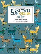 Boek cover Kijk! Twee zijn gelijk van Britta Teckentrup