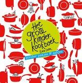 Boek cover Het grote kinderkookboek van Karin Luiten (Hardcover)