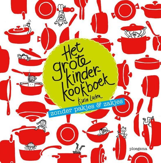 Afbeelding van Het grote kinderkookboek