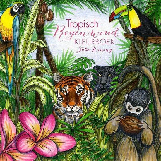 Tropisch regenwoud kleurboek