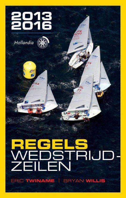Cover van het boek 'Regels wedstrijdzeilen  / 2013-2016'