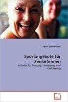 Sportangebote Fur Senior(inn)En
