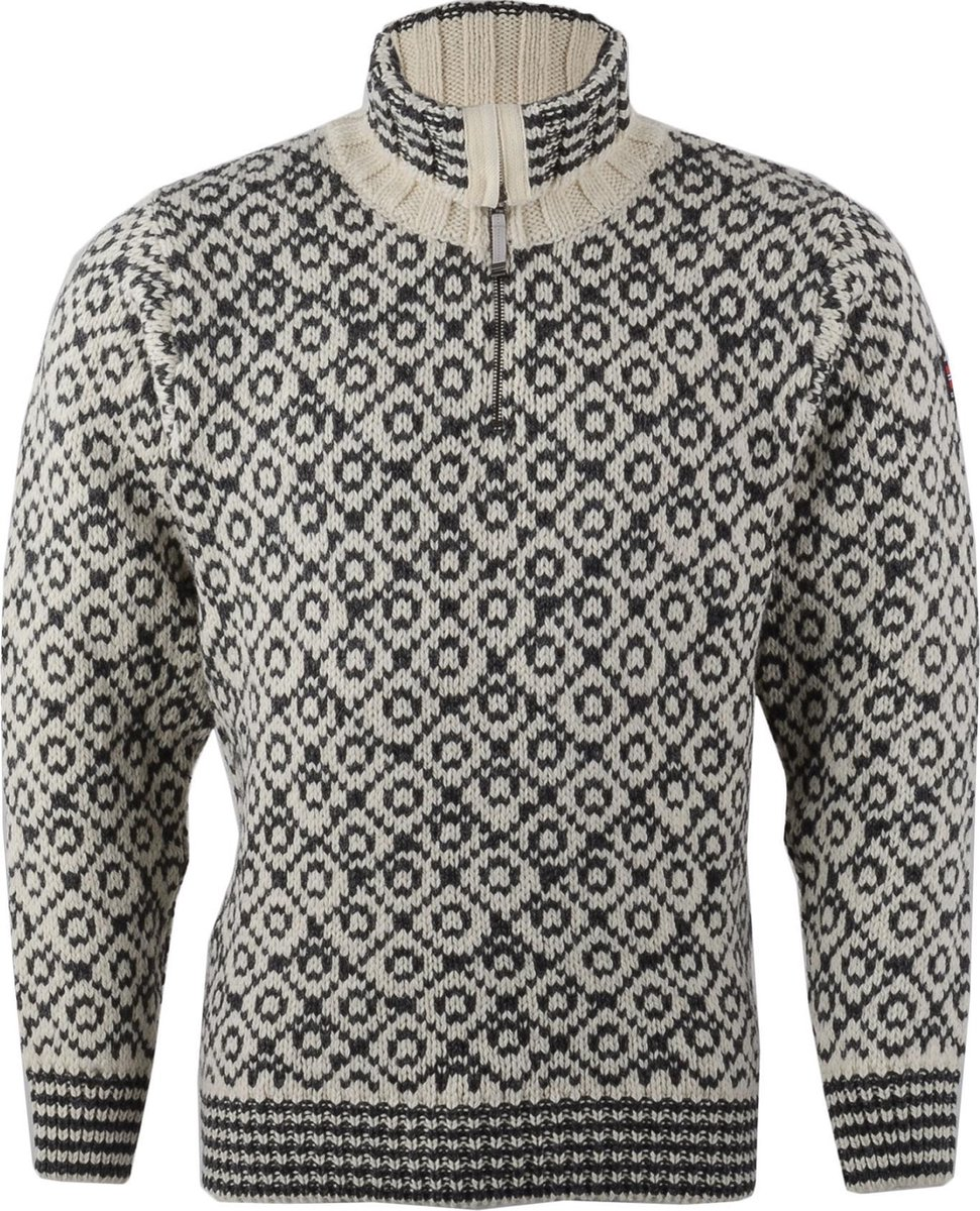 Devold Svalbard Sweater Zip Neck Merinotrui | Gratis
