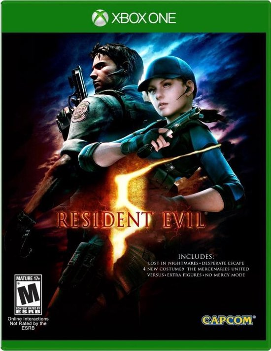 Resident Evil 5 HD (#) /Xbox One