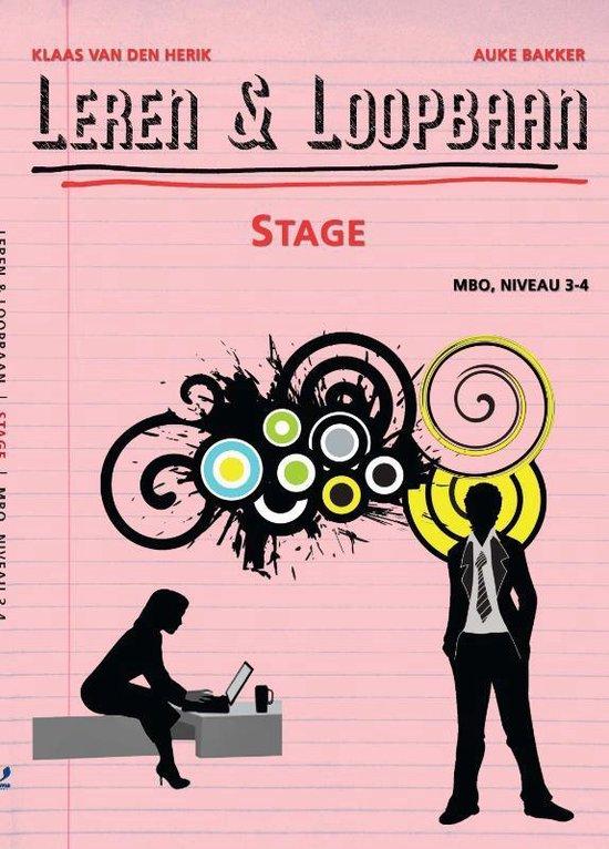 Leren & Loopbaan - Stage Mbo, niveau 3-4 - K. van den Herik  