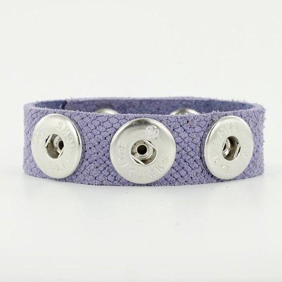 Bali Clicks Original Small Suedearmband Lavender