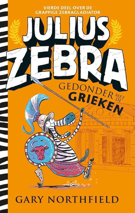 Julius Zebra 4 - Gedonder met de Grieken - Gary Northfield |