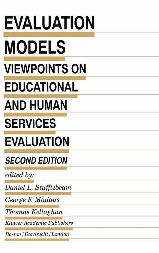 Boek cover Evaluation Models van Daniel L. Stufflebeam (Onbekend)