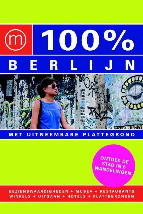 Cover van het boek '100% Berlijn' van Marjolein den Hartog