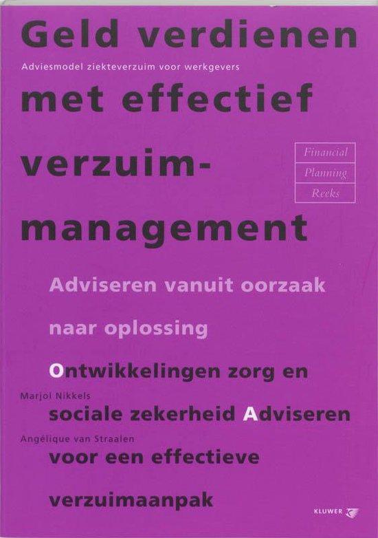 Geld verdienen met effectief verzuimmanagement - M. Nikkels |