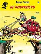 Boek cover Lucky luke 32. de postkoets van Morris