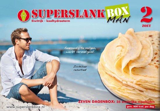 SuperslankBox Man 2 zoet - 35 maaltijden