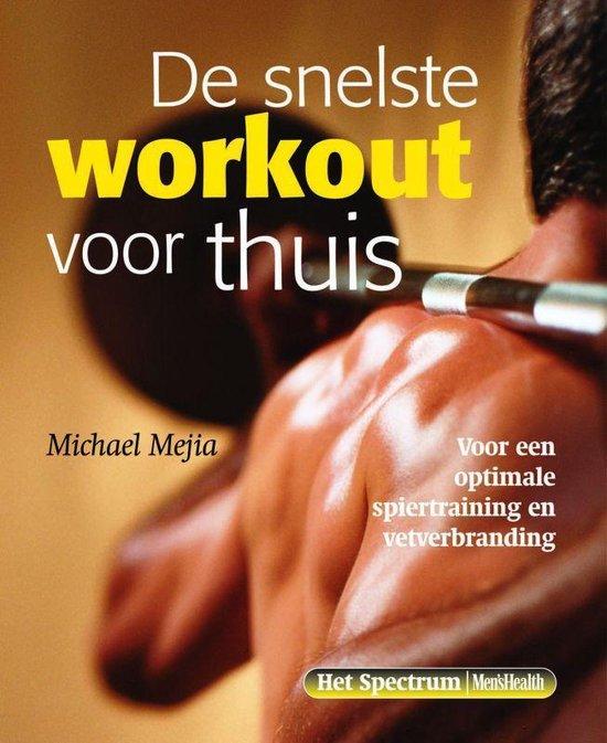 Cover van het boek 'De snelste workout voor thuis'