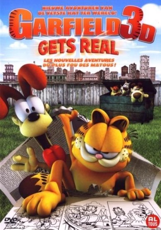 Cover van de film 'Garfield 3D - Gets Real'