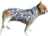 Medical Pet Shirt Hond Zebra Print - S