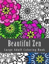 Beautiful Zen Large Adult Coloring Book