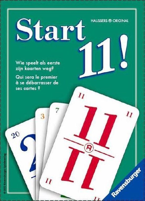 Ravensburger Start11 - kaartspel