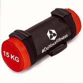 #DoYourFitness® - Core Bag / Gewicht Bag »Carolous« van 5 kg tot 30 kg - 2 handgrepen en 1 riem - Kracht / fitness bag voor kracht-, uithoudings-, gevechts- en coördinatietraining - 15kg