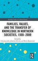 Families, Values, and the Transfer of Knowledge in Northern Societies, 1500-2000