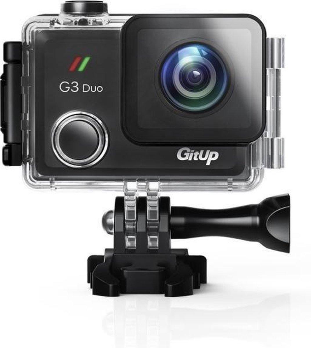 GitUp Git 3 G3 Duo 4K WiFi Actie Camera 2160P 2.0 inch LCD Git3 Camera Novatek 96660 Chipset IMX323 - GitUp