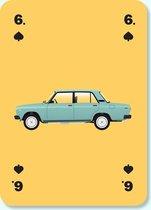 The Cool Club - Cars Editie - Kaartspel met de 54 Coolste Auto's van de Wereld - Hoogwaardige Speelkaarten - Design Awards Winner